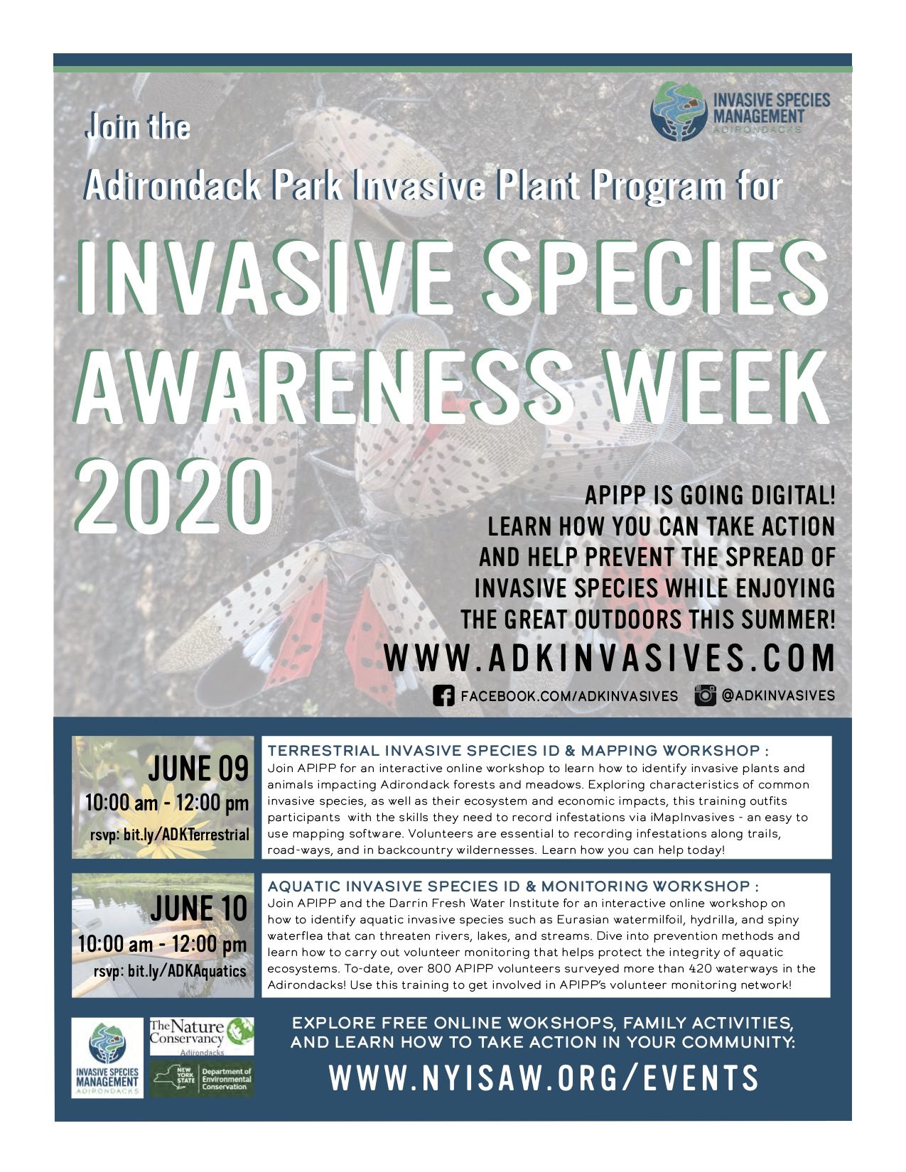 Invasive Species Awareness Week June 7-13th 2020